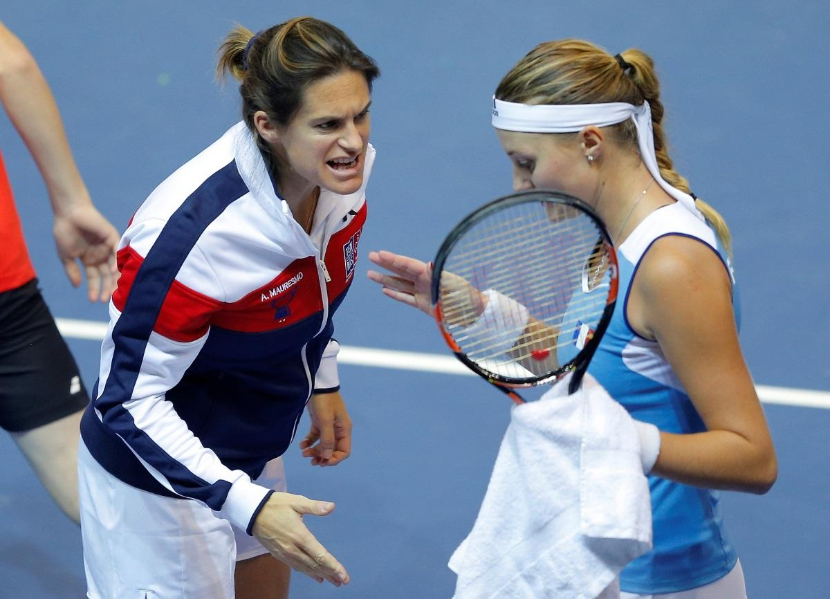 Mauresmo Snubs France For Pouille Role