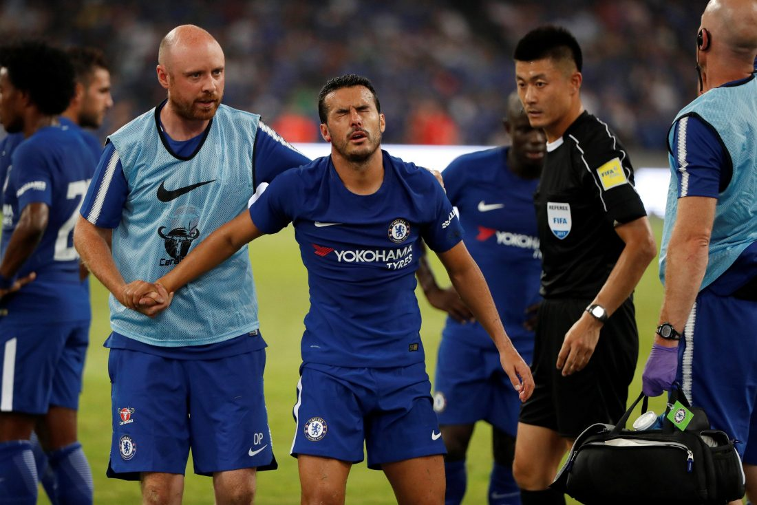 Pedro Missing For Palace Trip