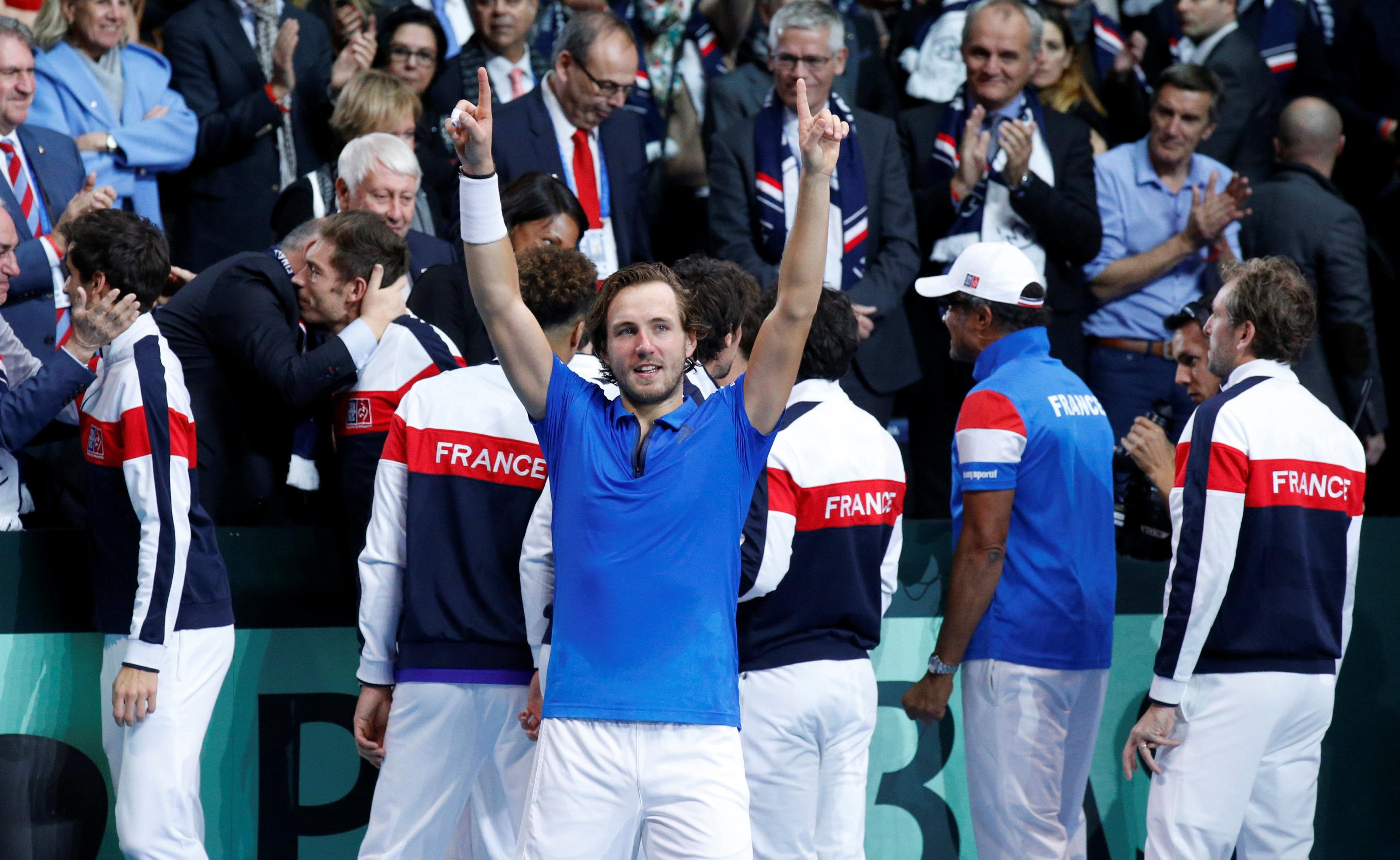 Pouille Relishing Mauresmo Partnership