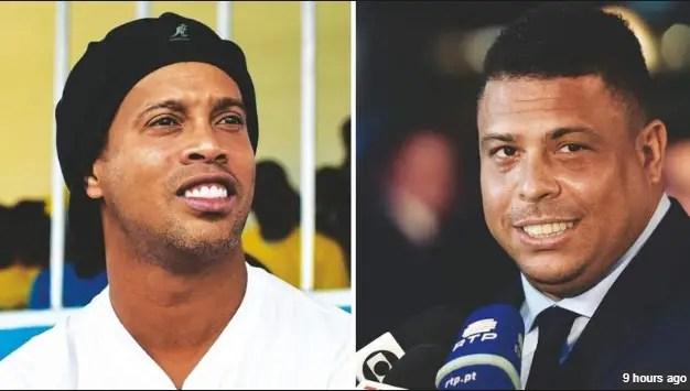 Brazzilian Legends Ronaldinho & Ronaldo Confirmed For Globe Soccer Awards In Dubai