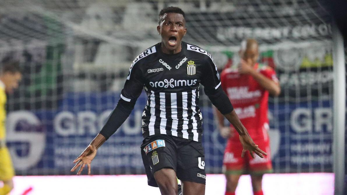 Lille Favourites To Sign Osimhen From Sporting Charleroi