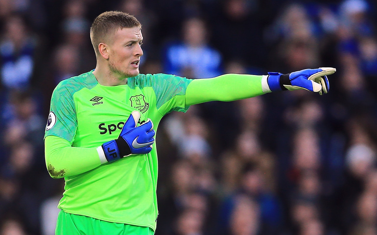 Pickford Happy With Everton's Resilience