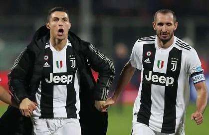 Juve Captain, Chiellini: Ronaldo Is Like Bolt,  Federer;  I Learn From Him