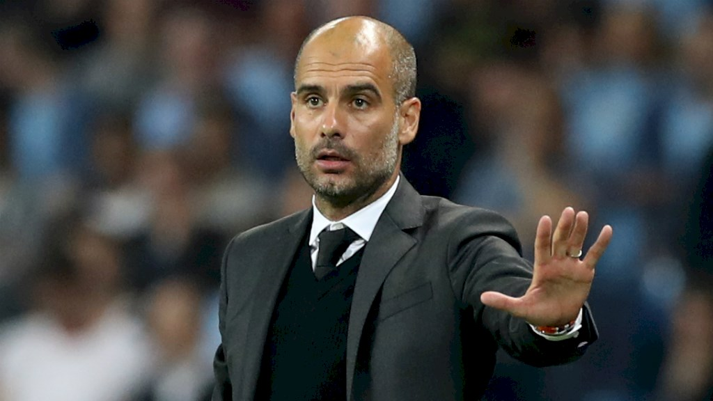 Guardiola Lauds Man  City Players After Win At Everton