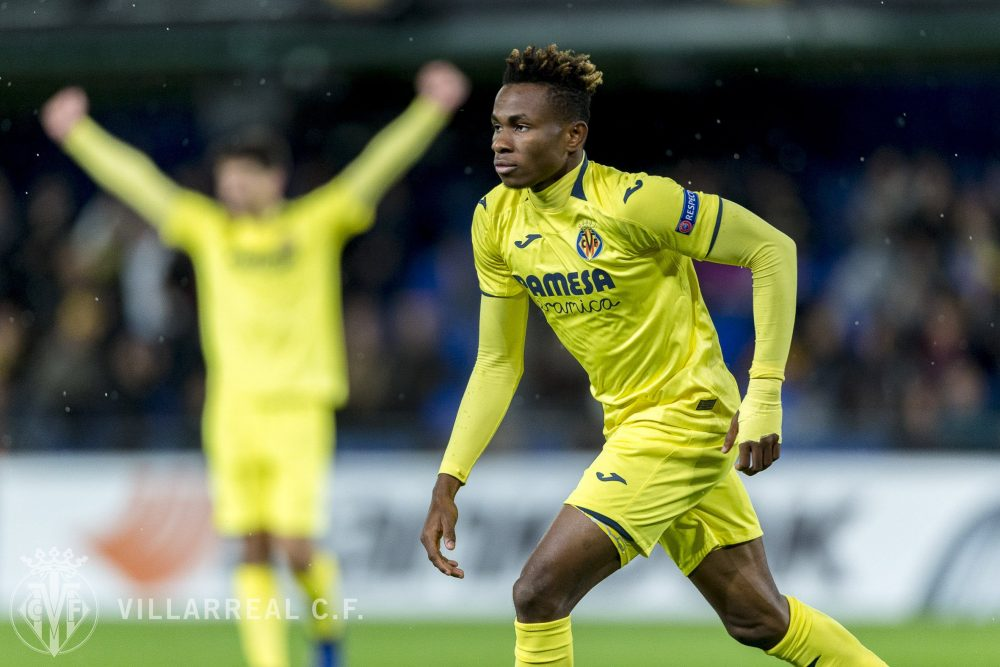 Chukwueze Dedicates Barcelona Goal To His Mentor Apugo