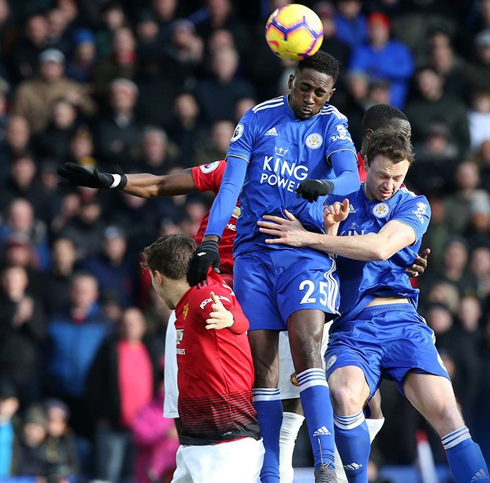 Ndidi Features Full-Time, Iheanacho Subbed On In Leicester Defeat To Man United