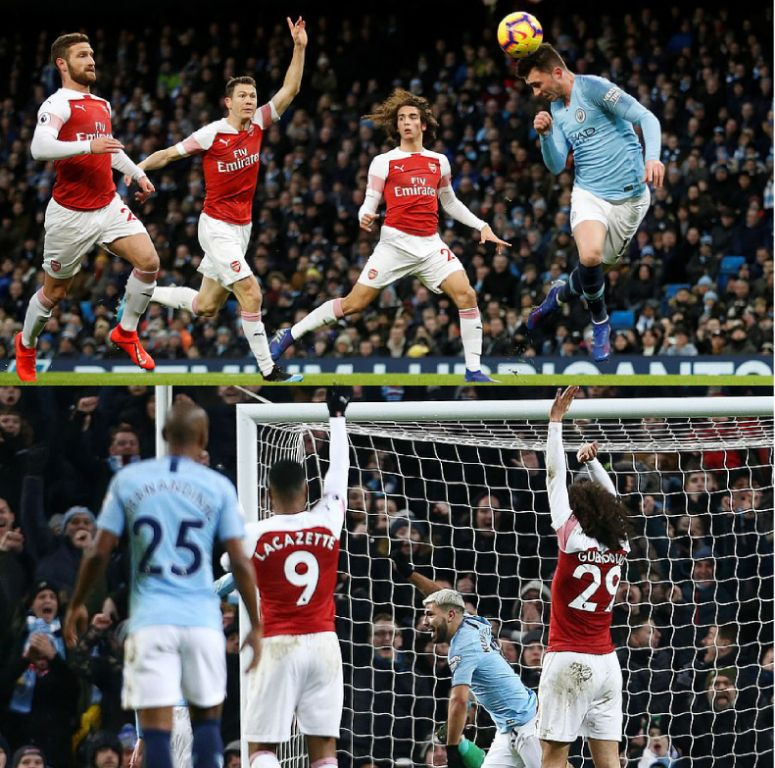 Aguero Admits Scoring Hand-Aided 3rd Goal  For City Against Arsenal