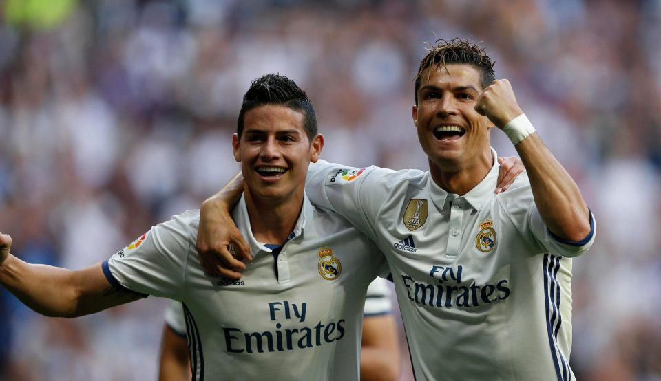 James Rodriguez's Father Keen On Son Joining Ronaldo At Juventus