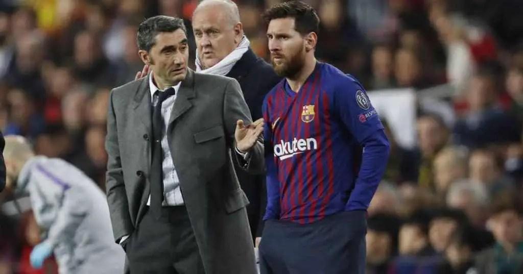 Valverde Happy Barca Still  Atop LaLiga Despite 3-Game Poor Run