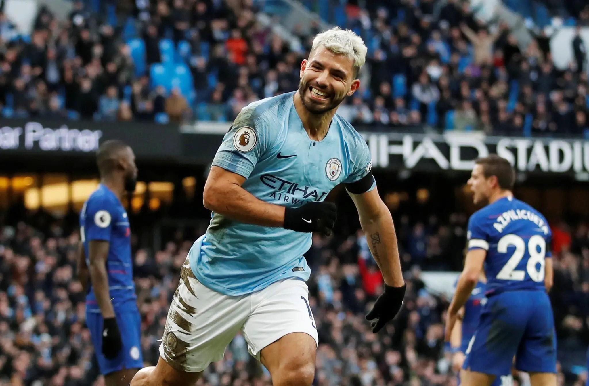 Aguero Anticipates Historic Four-Title Feat For Man City