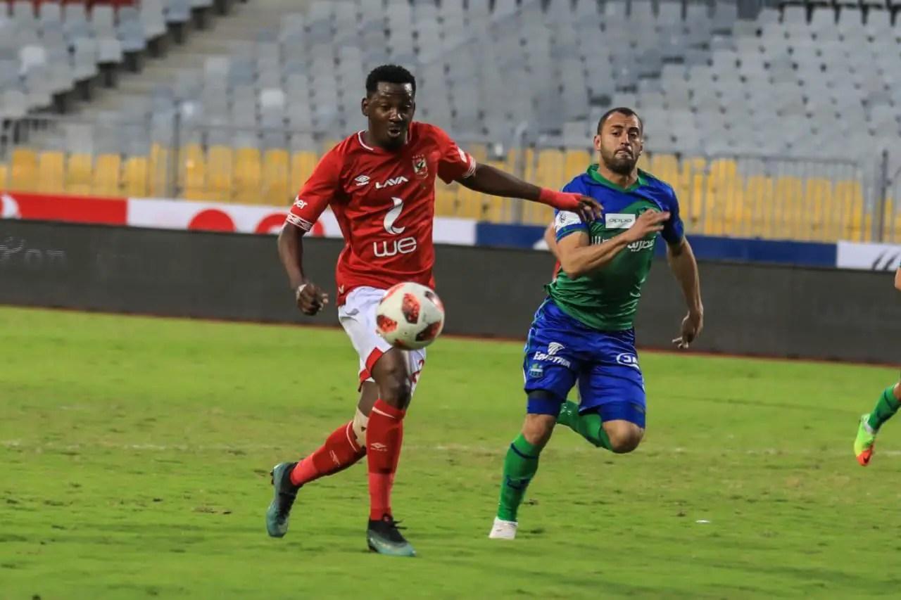 Ajayi Nets Fourth Goal Of Season In Al Ahly Win Vs El Daklyeh