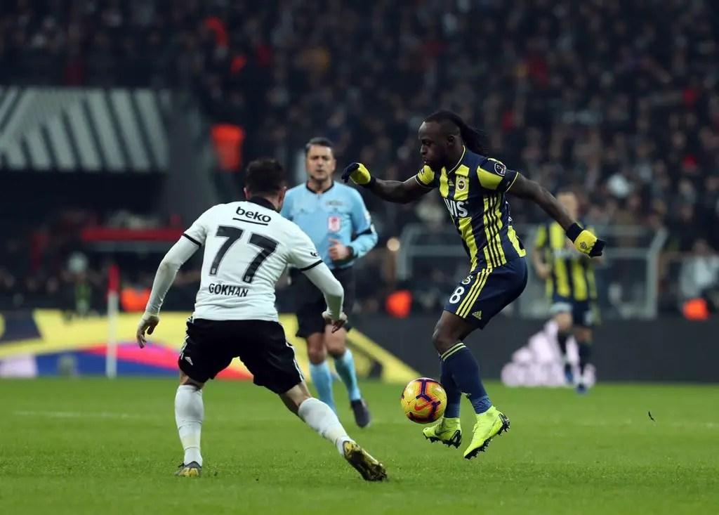 Moses Hails Fenerbahce Massive Fightback, Away Draw Vs Besiktas