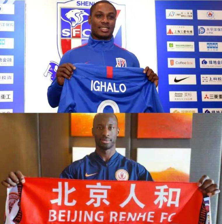 CSL: Ighalo, Aluko Set For New Season
