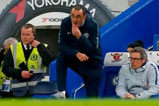 "Sarri: Chelsea Played ""Confusing Football"" Vs Man Utd"