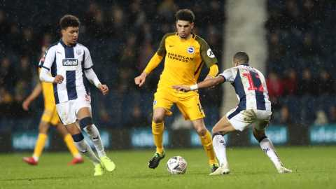 Balogun's Brighton Face Derby County In FA Cup Fifth Round
