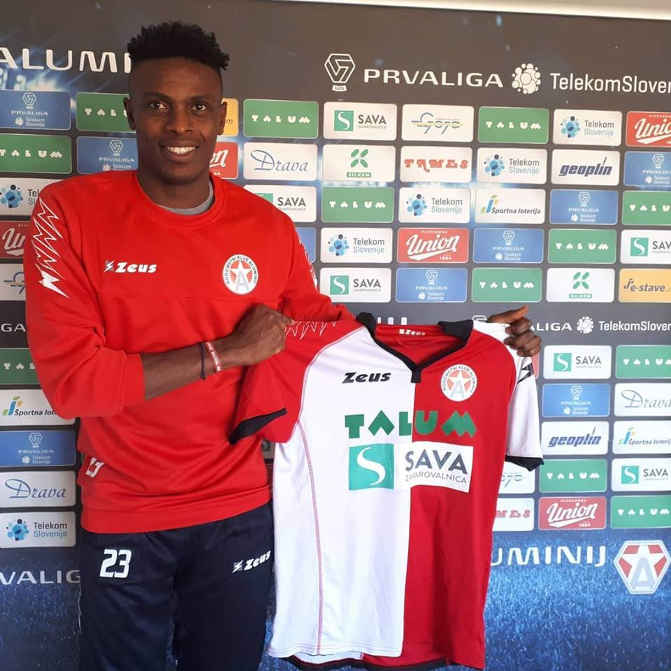 Amuzie Joins Slovenian Club, NK Aluminij