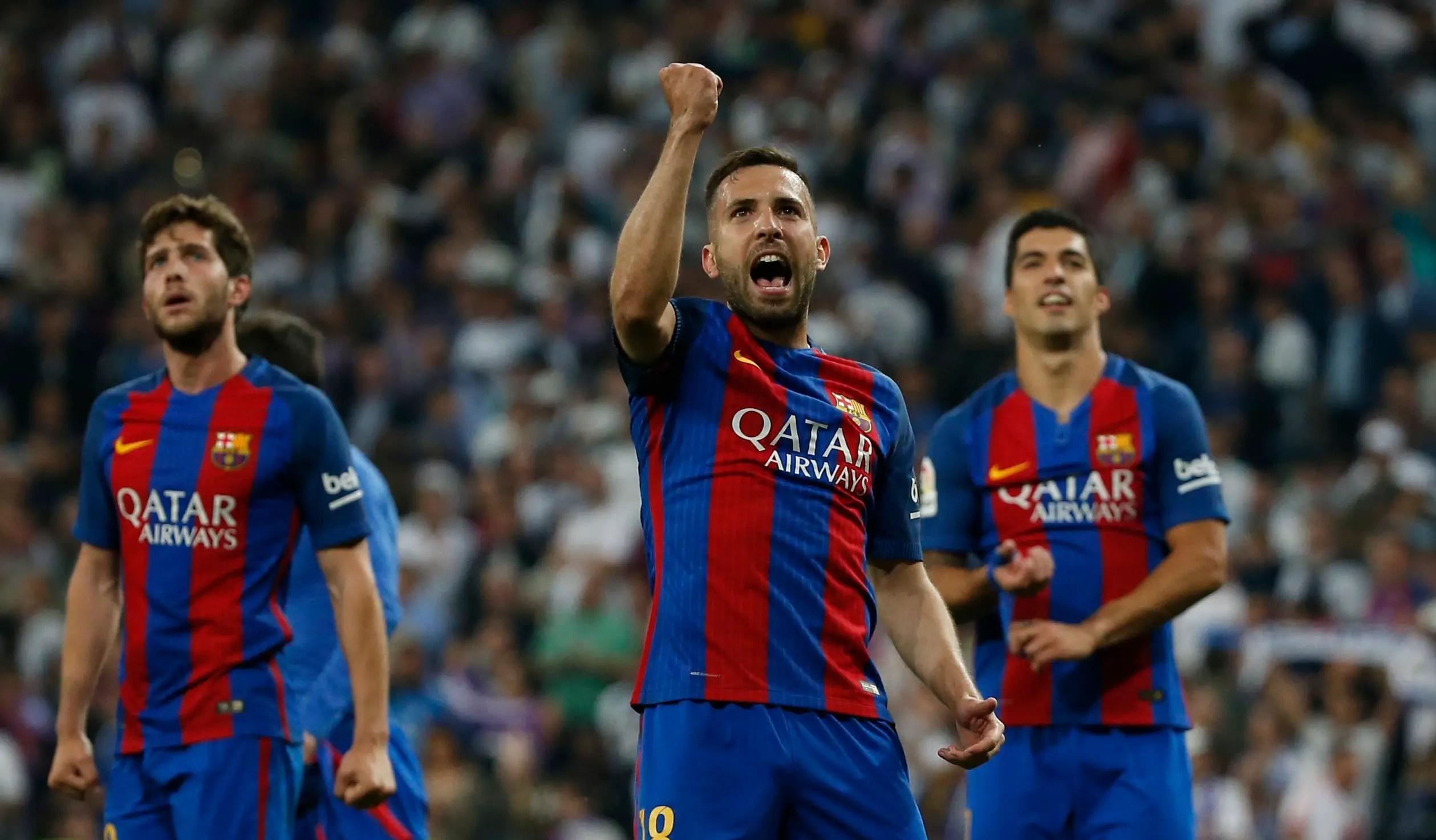 Alba Hails Barca Achievement