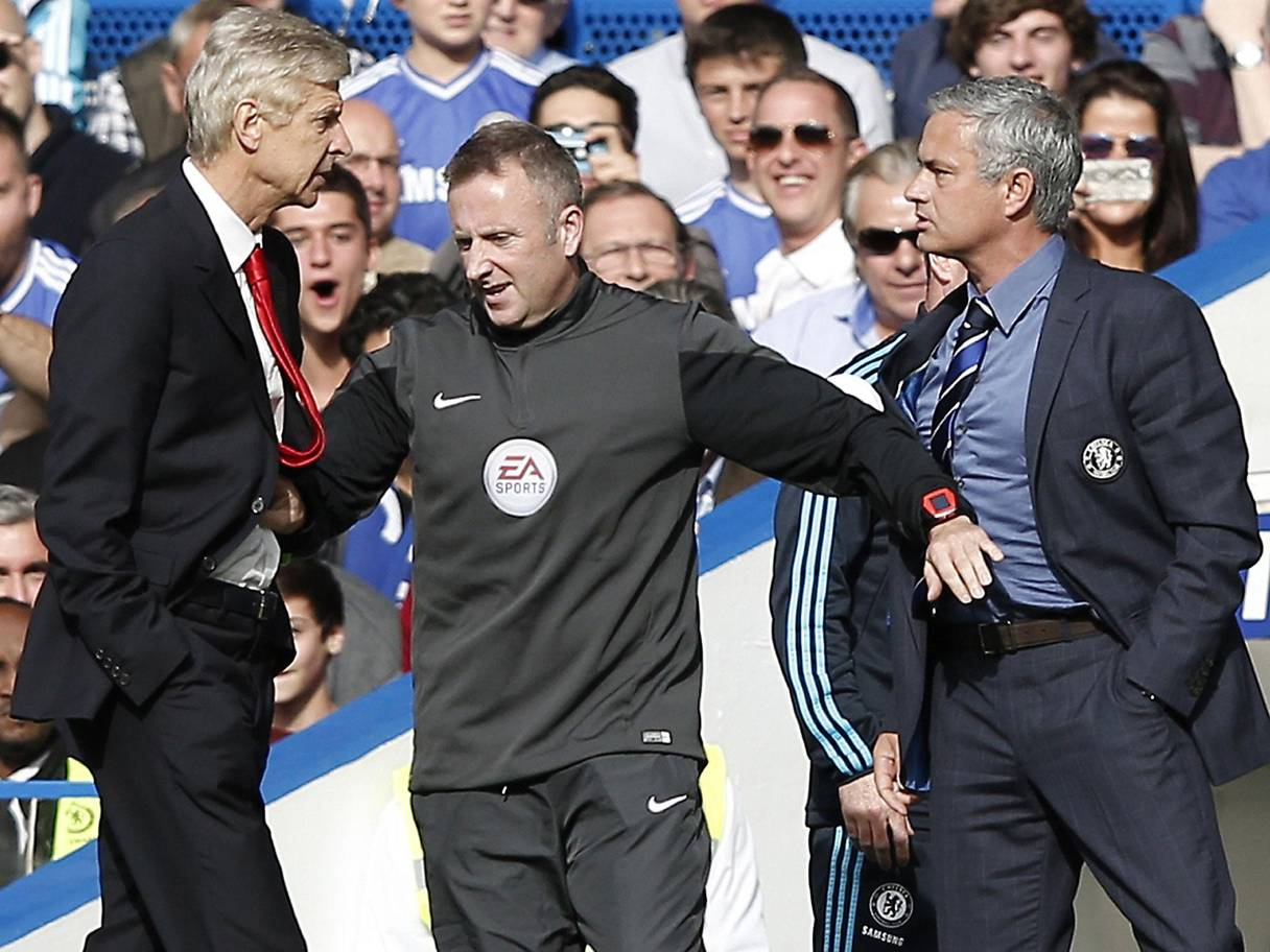 Mourinho: Wenger Is One Of The Best Managers In Football History