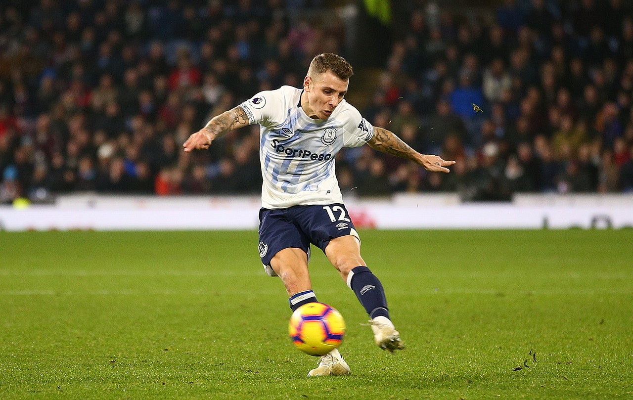 """Digne says Everton are """"working hard"""""""