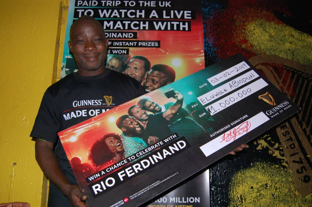 Guinness Fans Made Of More: 5More Millionaires Rewarded In Enugu, Ikorodu, Benin And Ile Ife