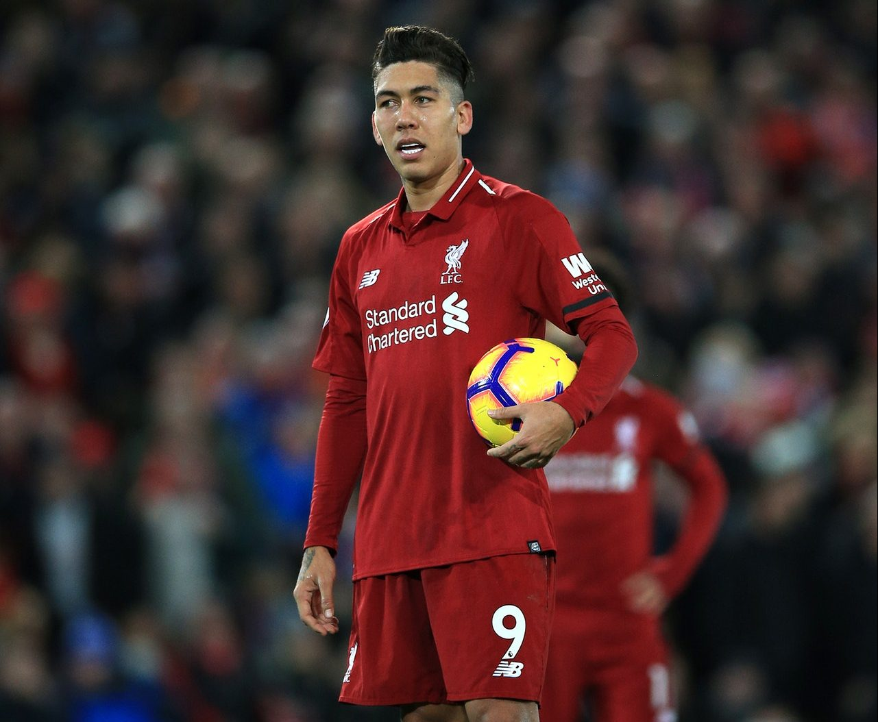 Firmino Facing Spell On The Sidelines