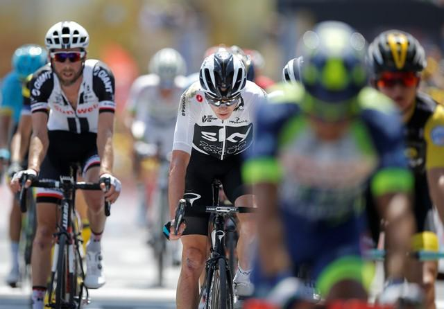 Froome Calm On Sponsorship Situation
