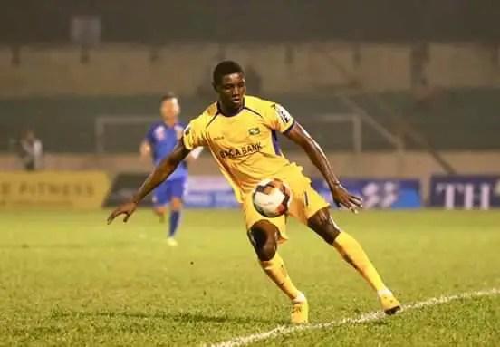 Former Abia Warriors Star Olaha Scores Wonder Goal In Vietnam