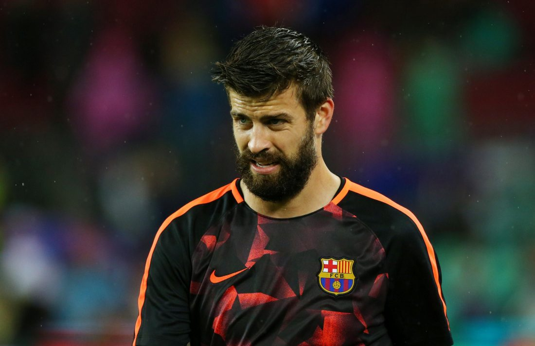 Pique Slams Barcelona Performance