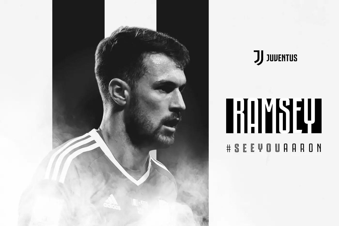 Juventus Confirm Ramsey Deal
