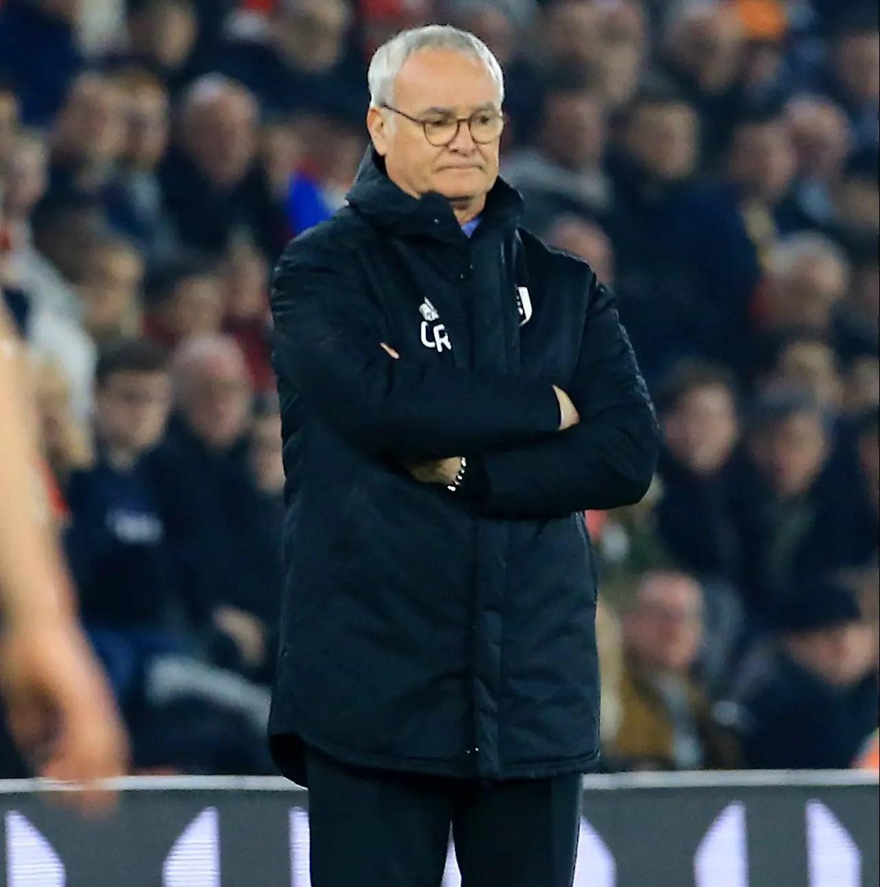 Ranieri Unsure Of Future After Saints Loss