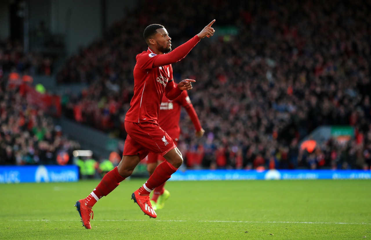 Wijnaldum Says Reds Can Fight On Two Fronts