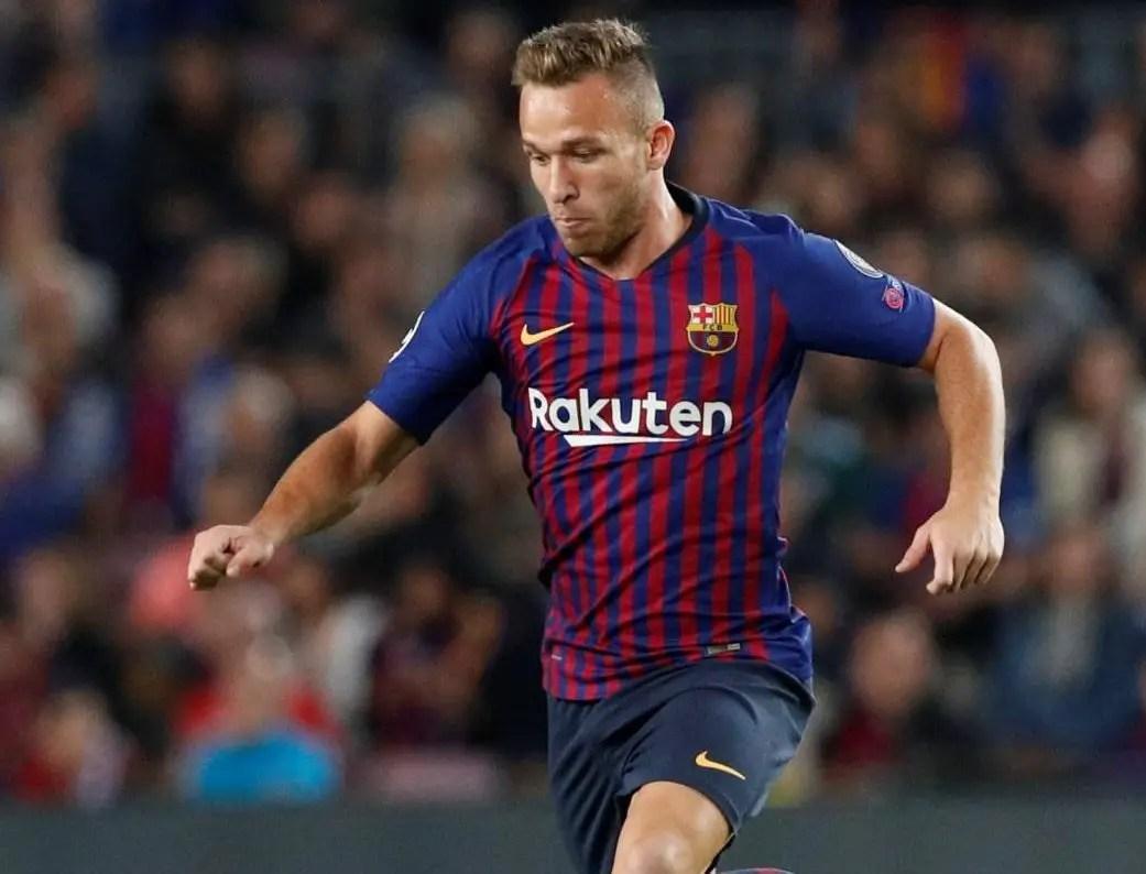 Returning Arthur Set To Boost Barca