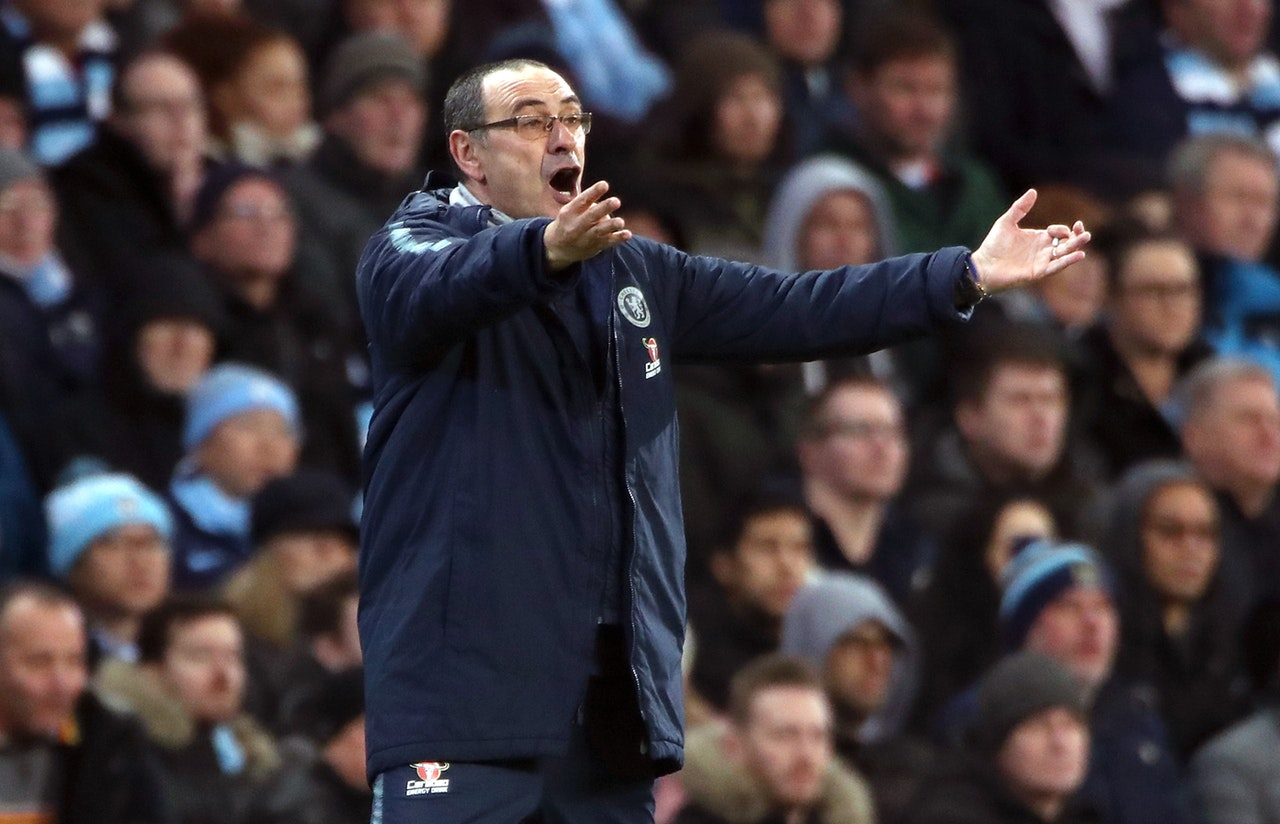 Sarri defiant after City disaster
