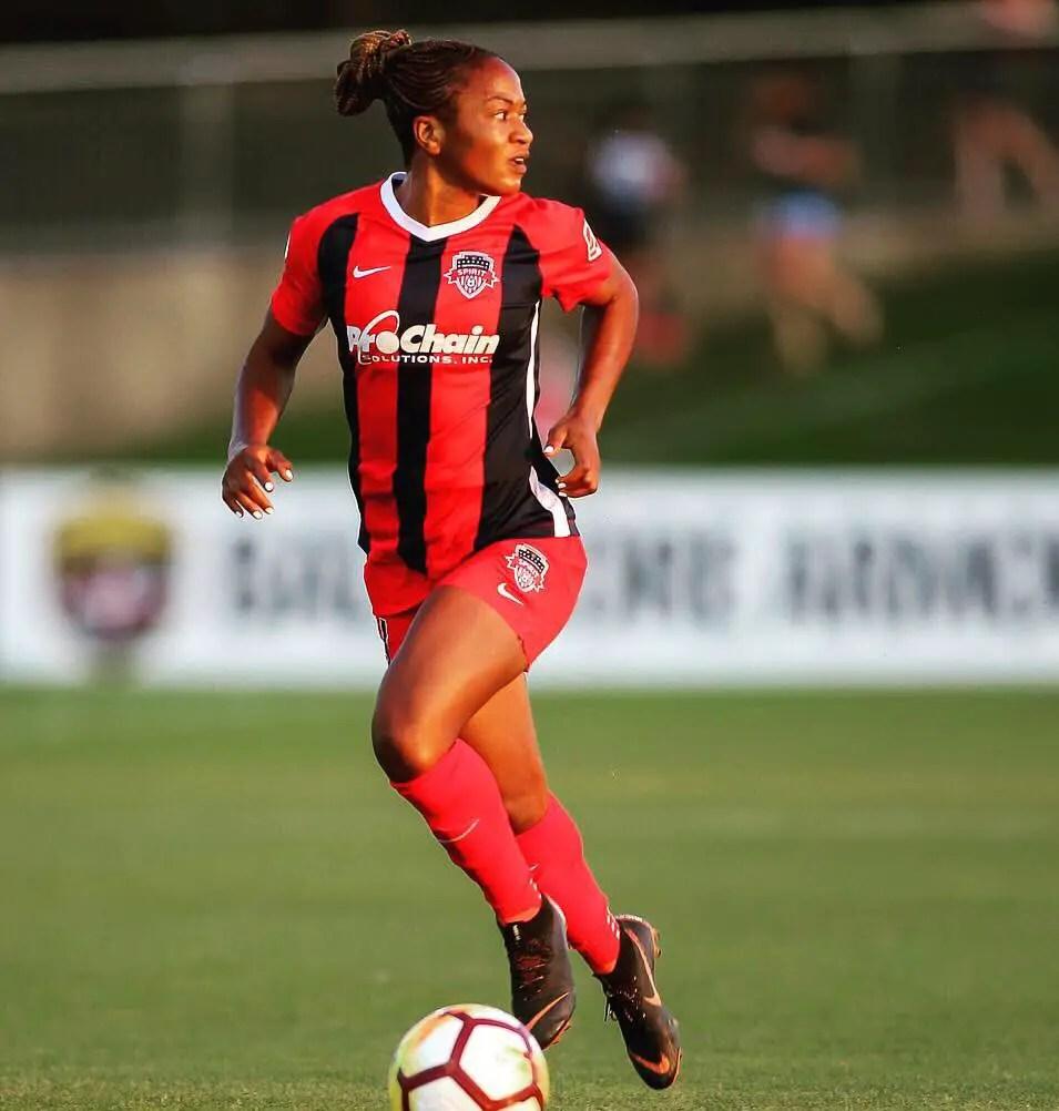 Ordega joins Shanghai W.F.C From Washington Spirit