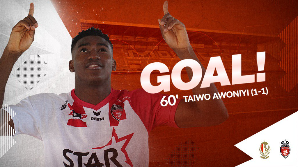 Awoniyi Scores 6th Goal In 7 Games For Mouscron