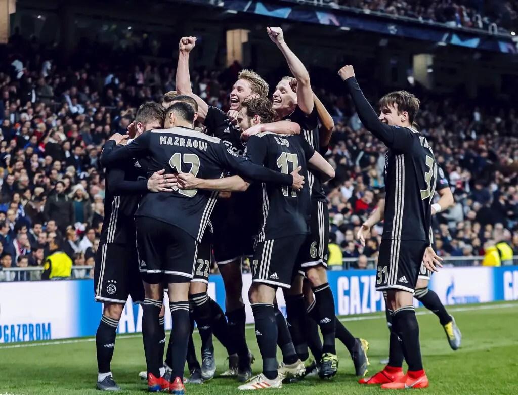 Champions League: Ajax Dump Out  Real Madrid, Tottenham Advance