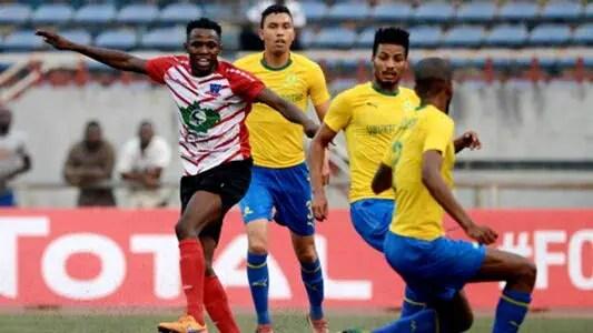 CAFCL: Mamelodi Sundowns Thrash Lobi Stars 3-0 In Pretoria