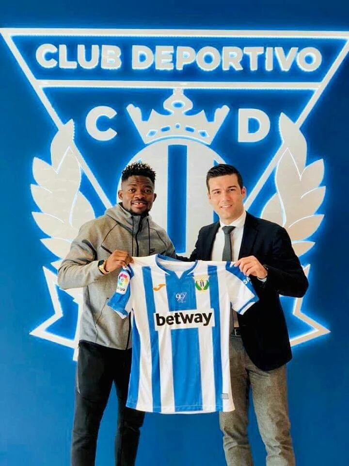 Leganes Sign Omeruo's Younger Brother Lucky On One-Year Deal
