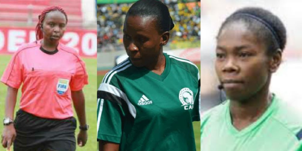 CAF Lists Three Women Referees For U-17 AFCON