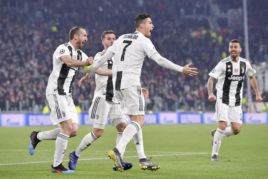 Champions League:  Ronaldo Treble Sends Juventus Through To Quarters,  Man City Thrash Schalke