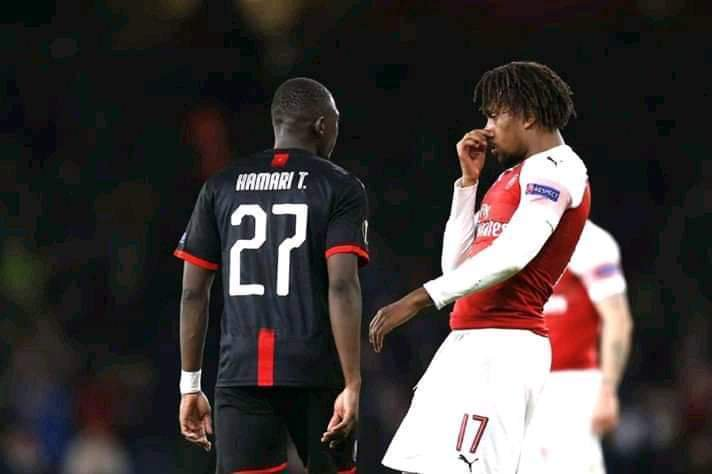 Fans Slam Iwobi For Childish Act Against Rennes Defender Traore
