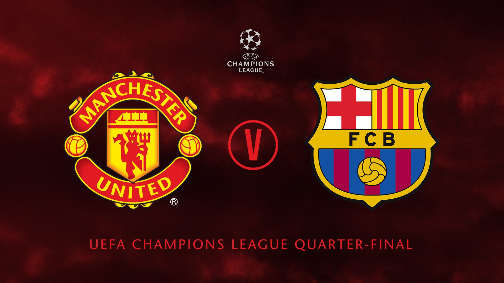 UCL Q-Finals: Man United Draw Barcelona,  Tottenham To Face Man City