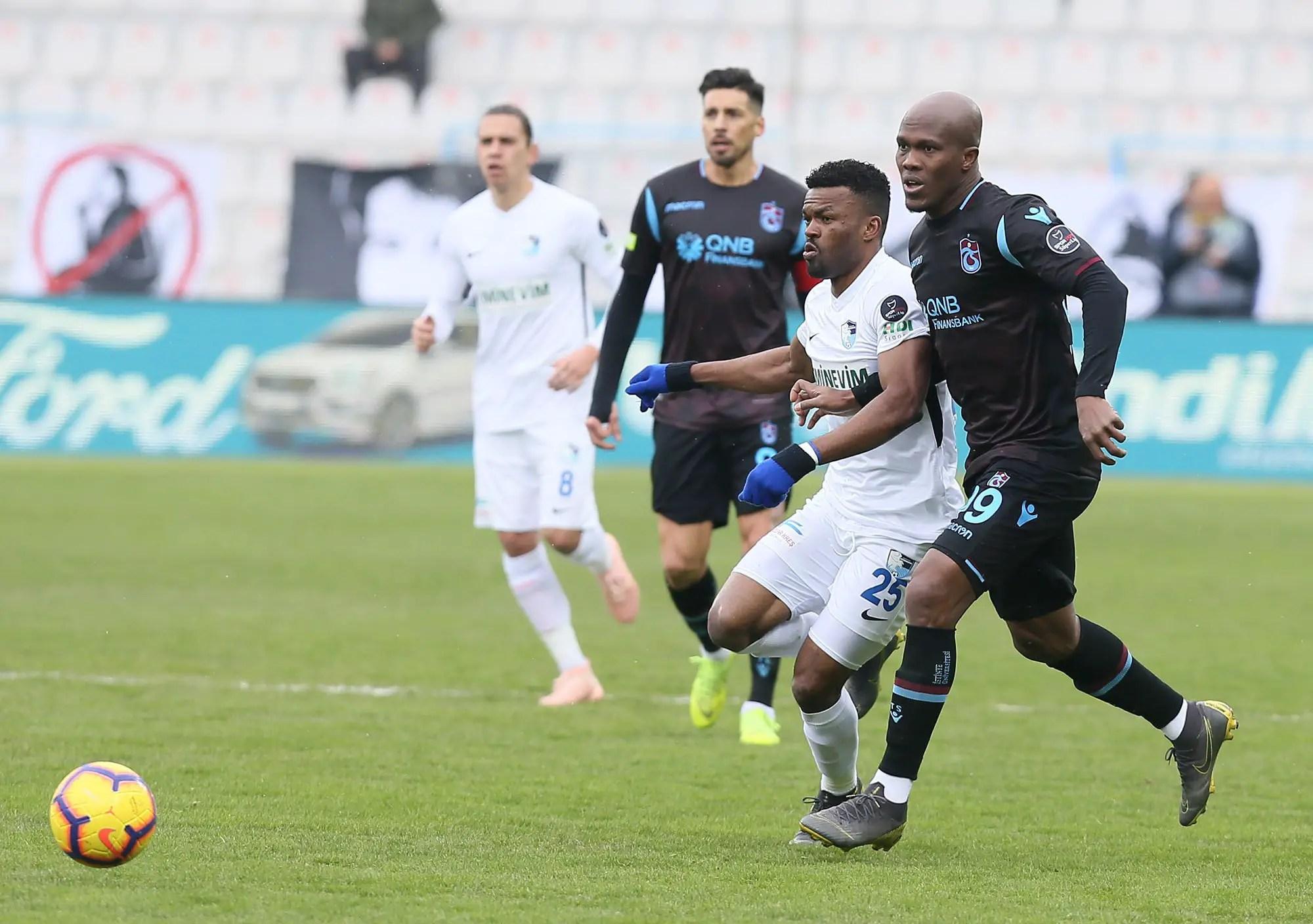 Nwakaeme Happy To Score Trabzonspor Winner Against Erzurumspor