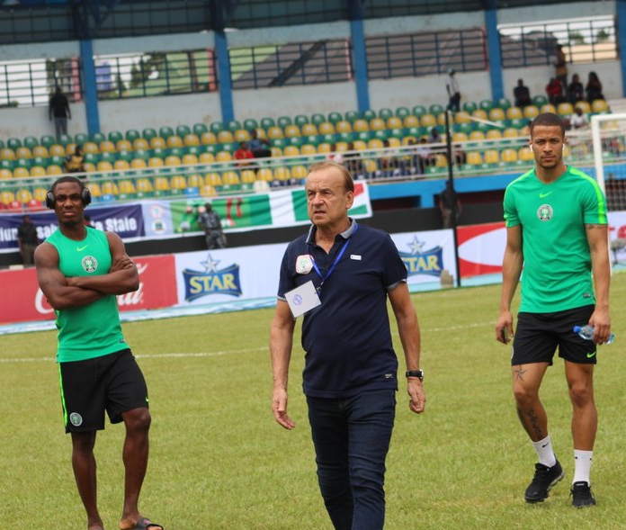 Rohr To Feature Players With Limited Club Action Against Zimbabwe