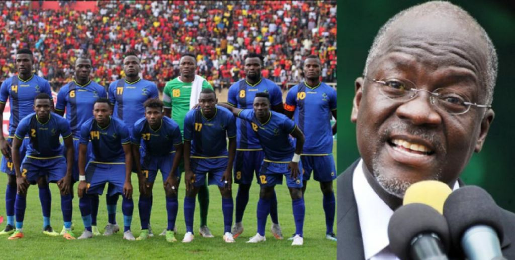 President Magufuli Rewards Tanzania Players With Parcel Of Land Each For AFCON Qualification