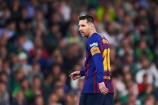 Valverde: Messi Has Been In Pain Since December