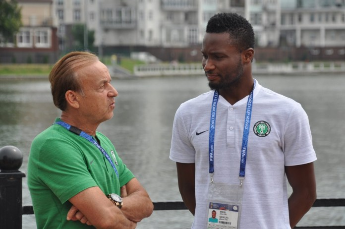Top NFF Official Opposed To Mikel Returning To Eagles–Committee Member