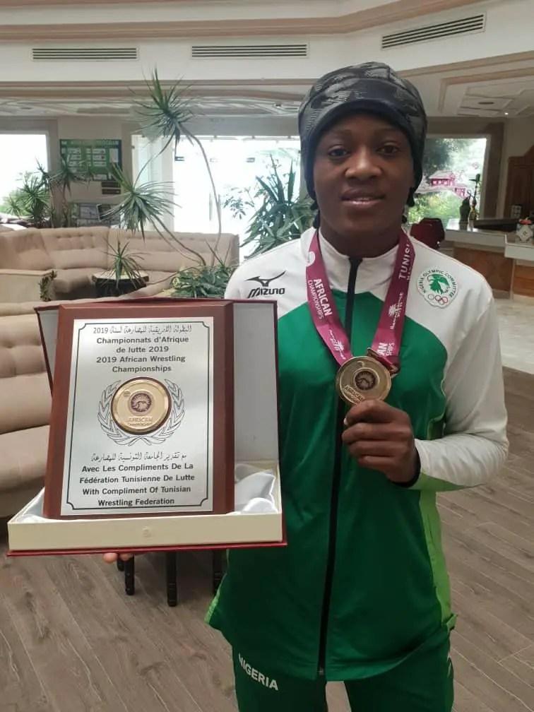 Adekuoroye Emerges Best Wrestler At African Championships