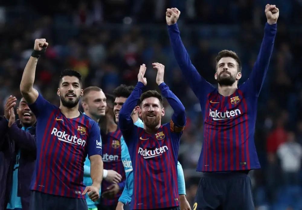 Barcelona Ready For Lyon clash