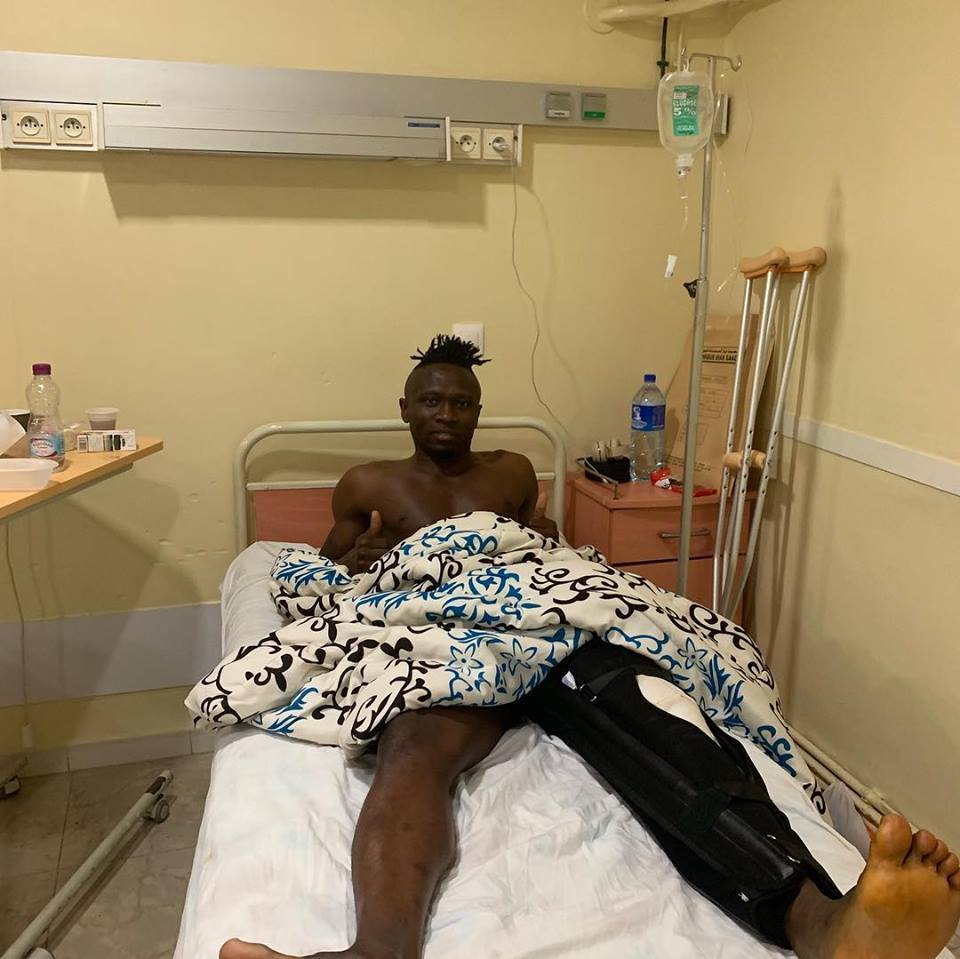 Nwofor Undergoes Successful Knee Surgery in Algiers
